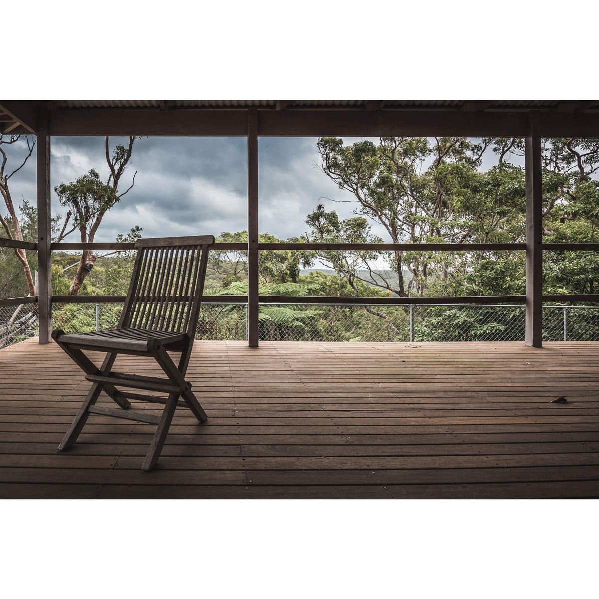 Deck | Waratah Park Fine Art Print - Lost Collective Shop