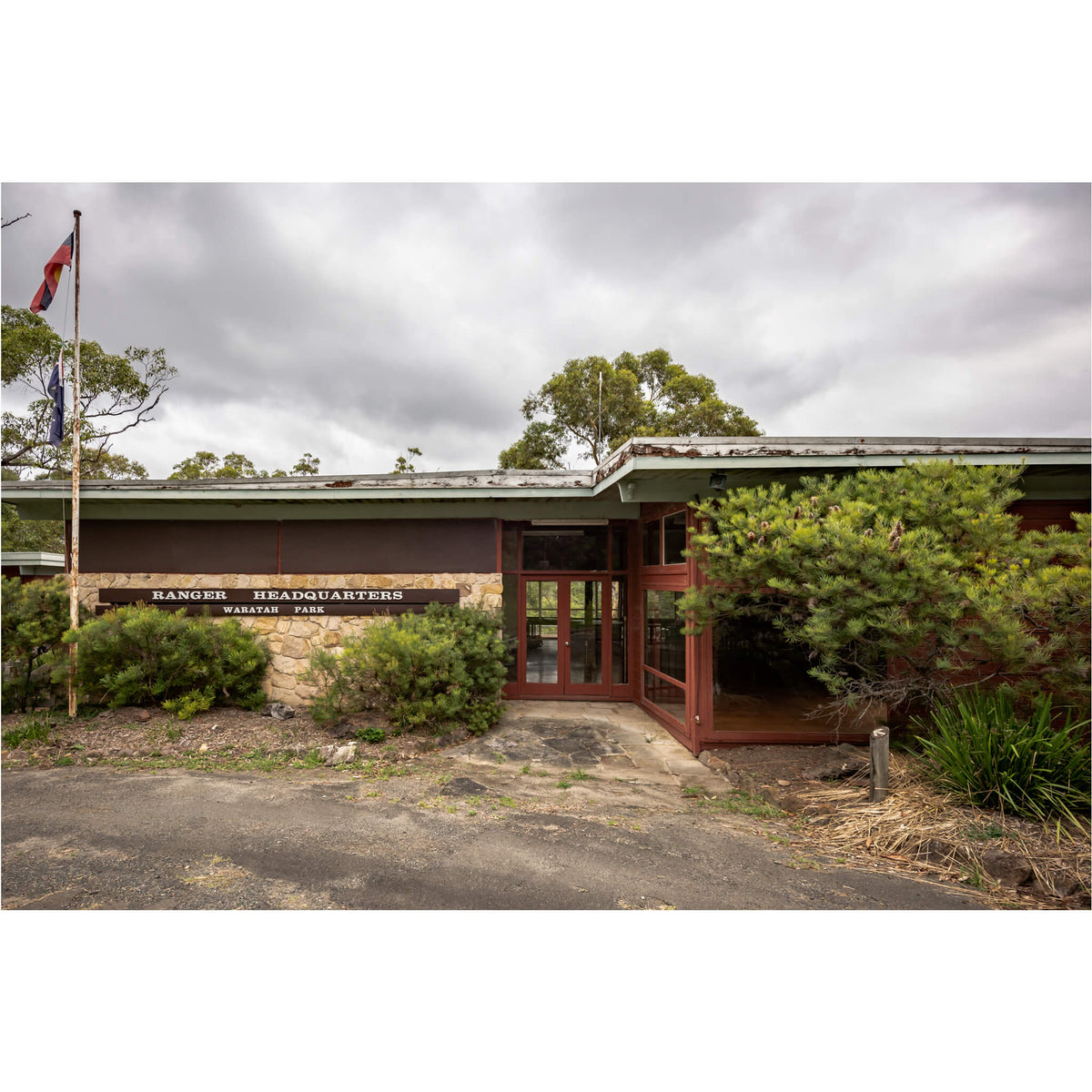 Ranger Headquarters | Waratah Park Fine Art Print - Lost Collective Shop