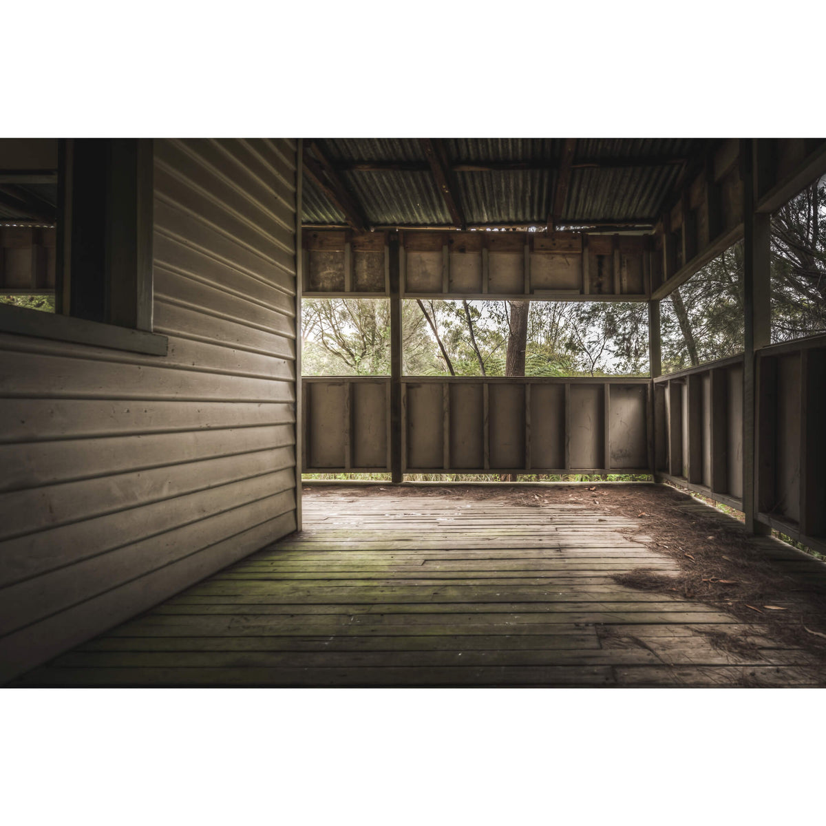 Train Station | Waratah Park Fine Art Print - Lost Collective Shop
