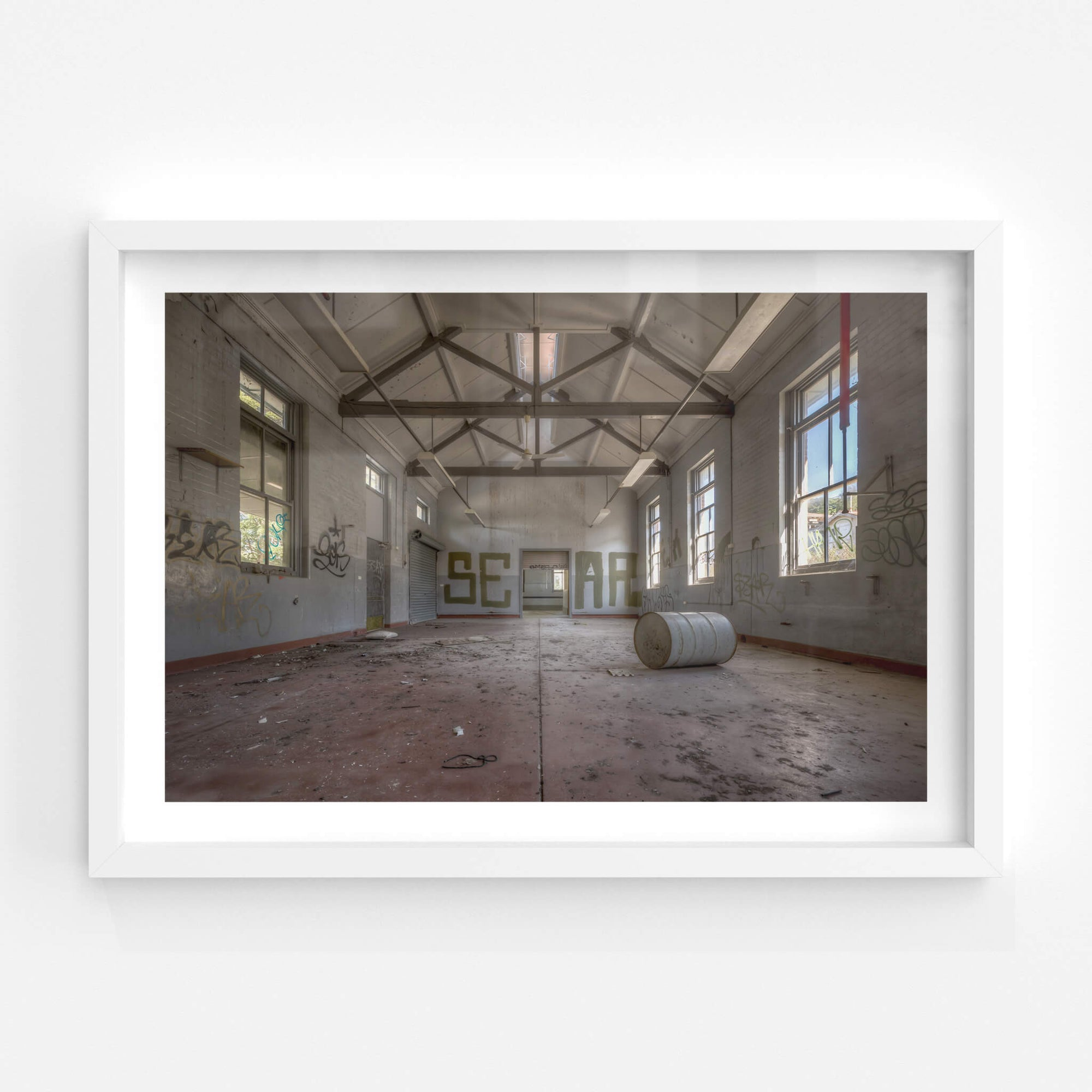 Arches | Waterfall Sanatorium Fine Art Print - Lost Collective Shop