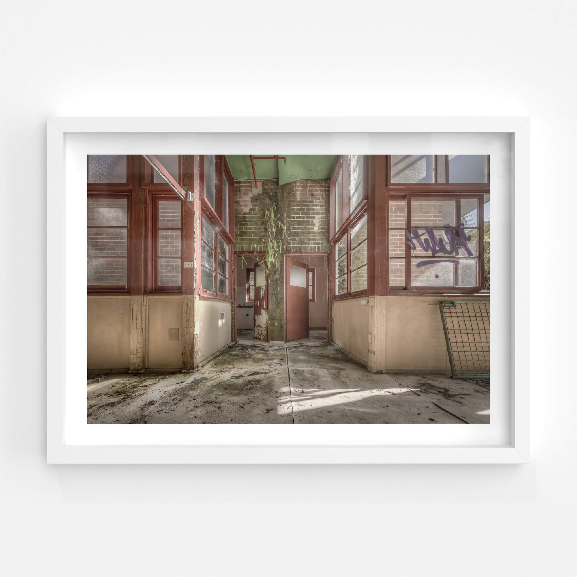 Hanging Garden | Waterfall Sanatorium Fine Art Print - Lost Collective Shop