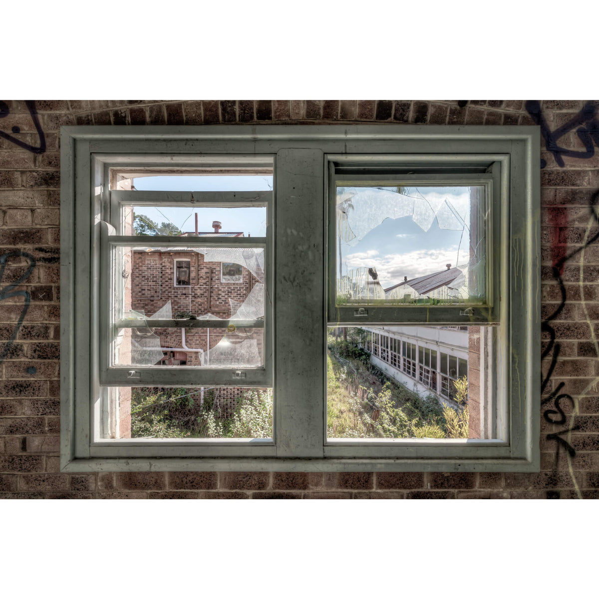 Looking Out | Waterfall Sanatorium Fine Art Print - Lost Collective Shop