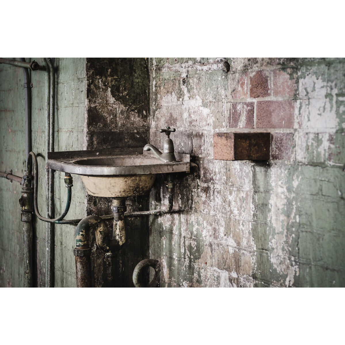 Hand Basin | West Ryde Pumping Station Fine Art Print - Lost Collective Shop