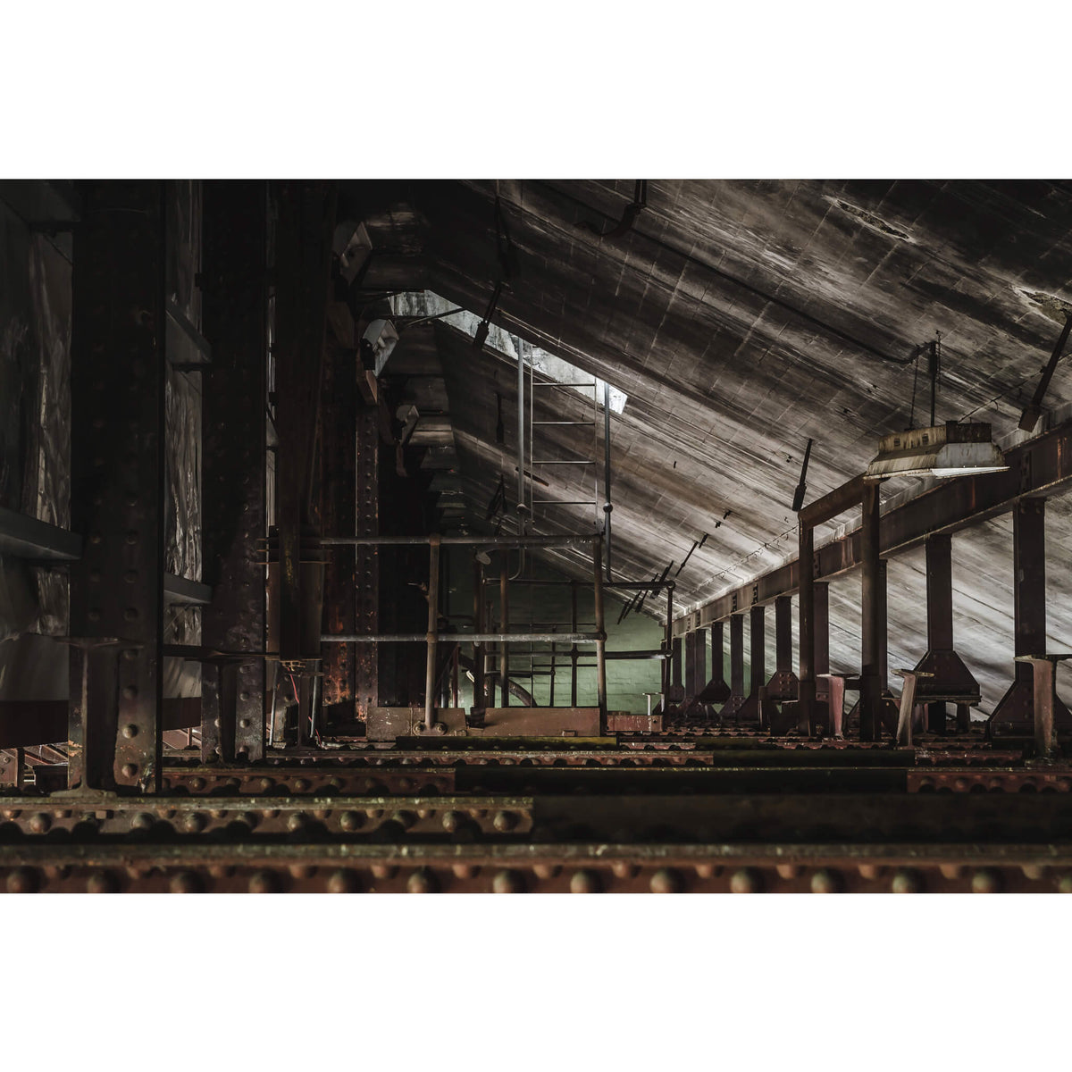 Rafters | West Ryde Pumping Station Fine Art Print - Lost Collective Shop