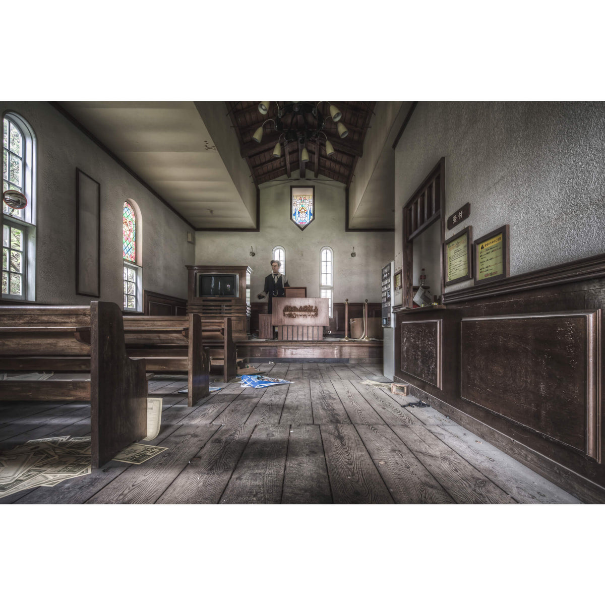Chapel | Western Village Fine Art Print - Lost Collective Shop