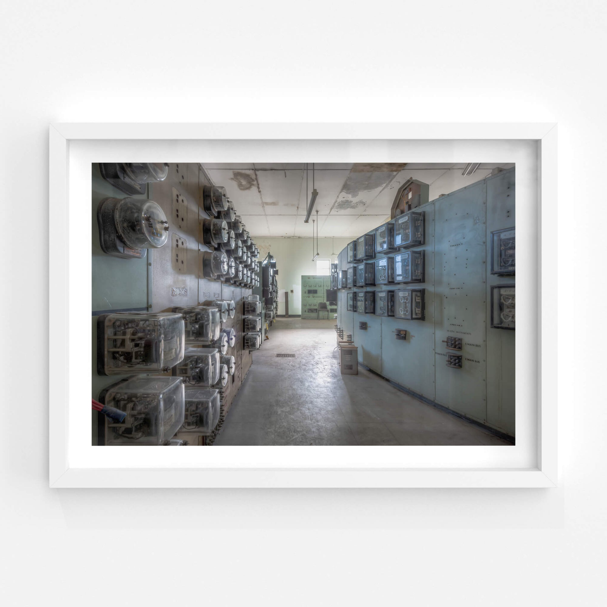 Ammeter Wall | White Bay Power Station Fine Art Print - Lost Collective Shop
