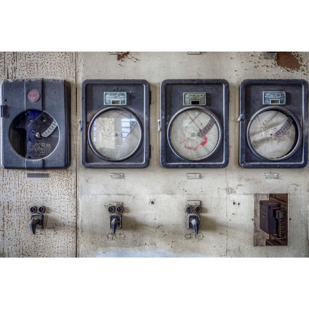 Bailey Meters | White Bay Power Station Fine Art Print - Lost Collective Shop