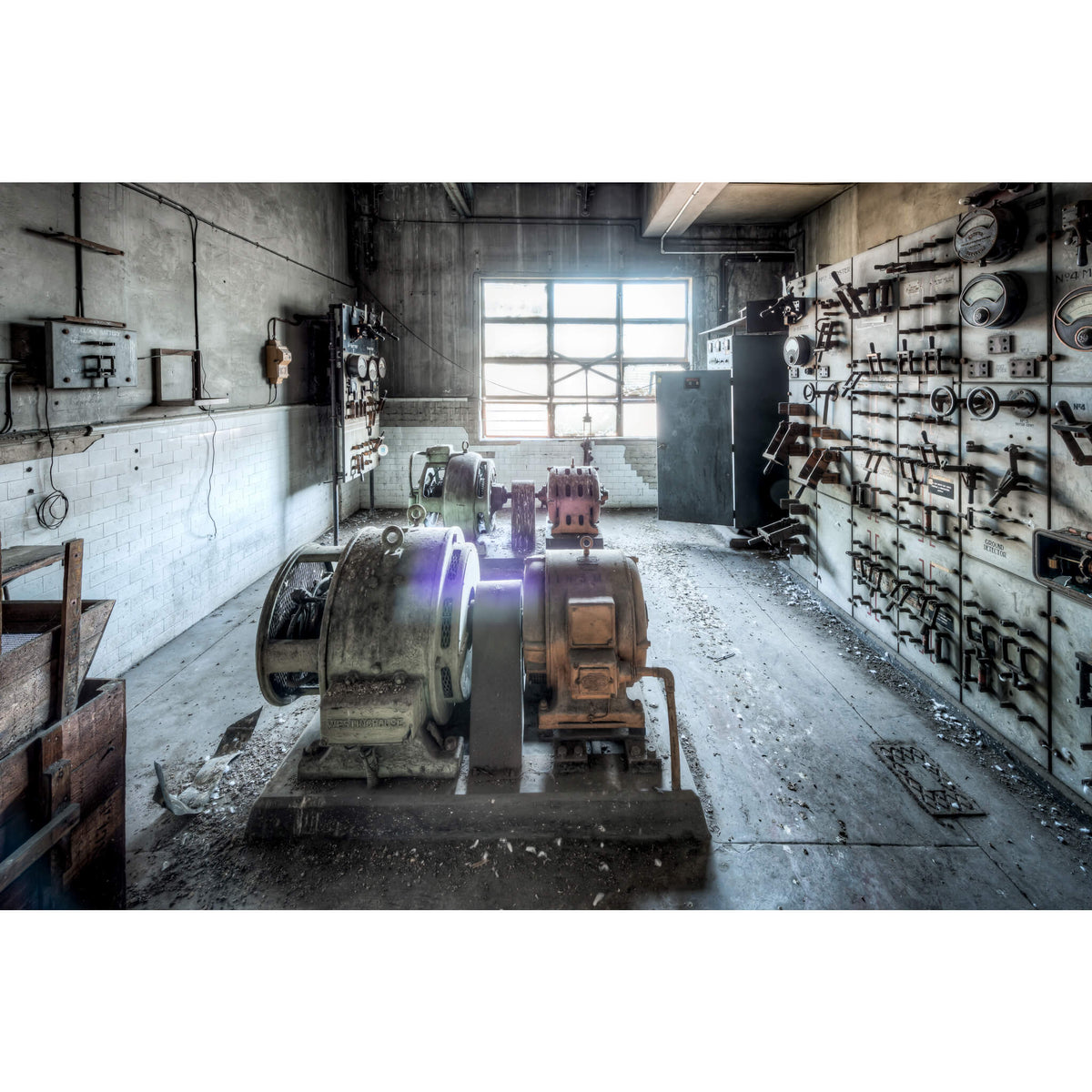 Battery Room | White Bay Power Station Fine Art Print - Lost Collective Shop