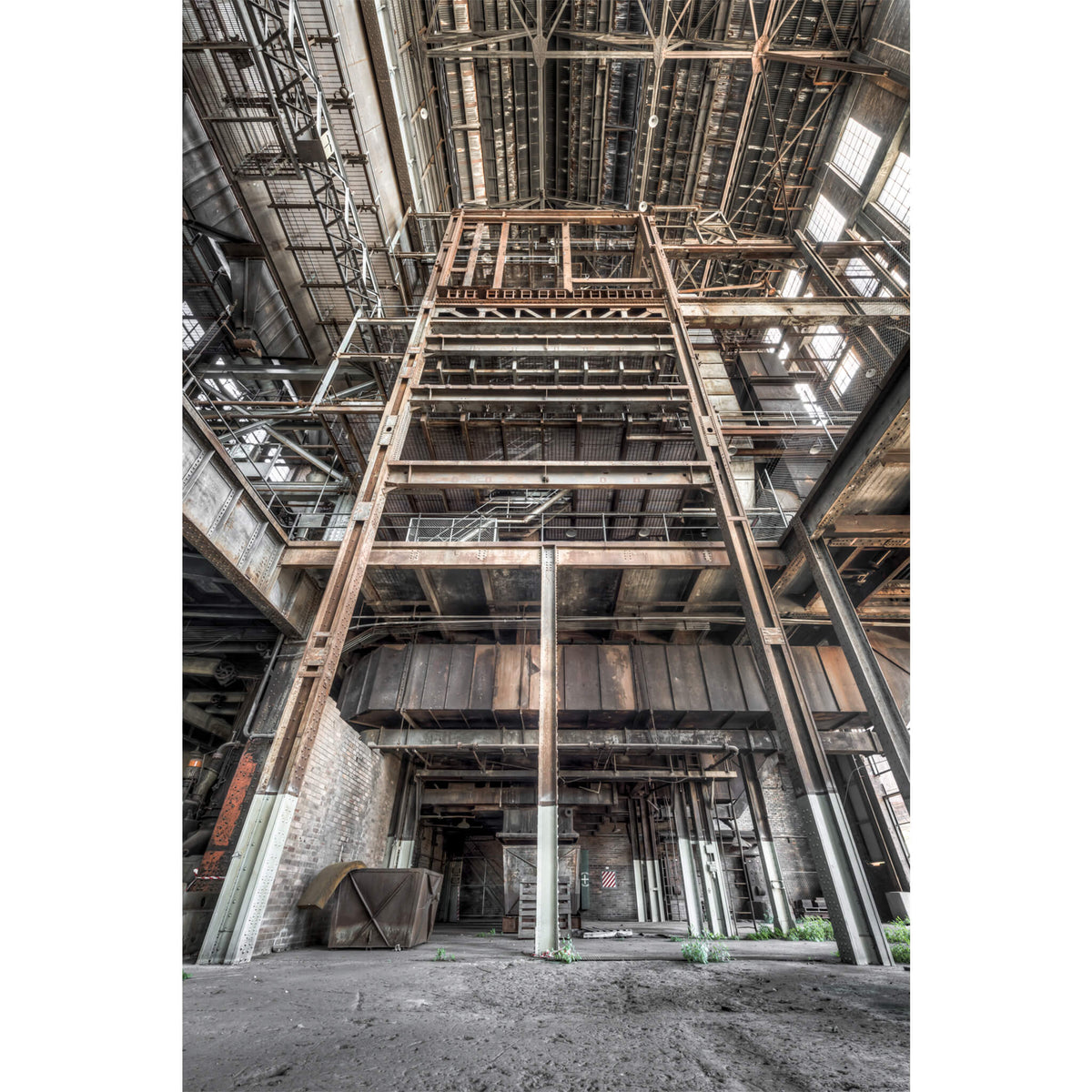 Boiler House Basement To Ceiling | White Bay Power Station Fine Art Print - Lost Collective Shop