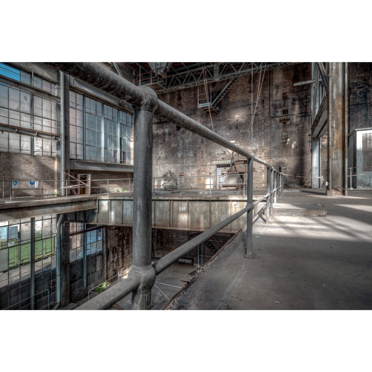 Boiler House Handrail | White Bay Power Station