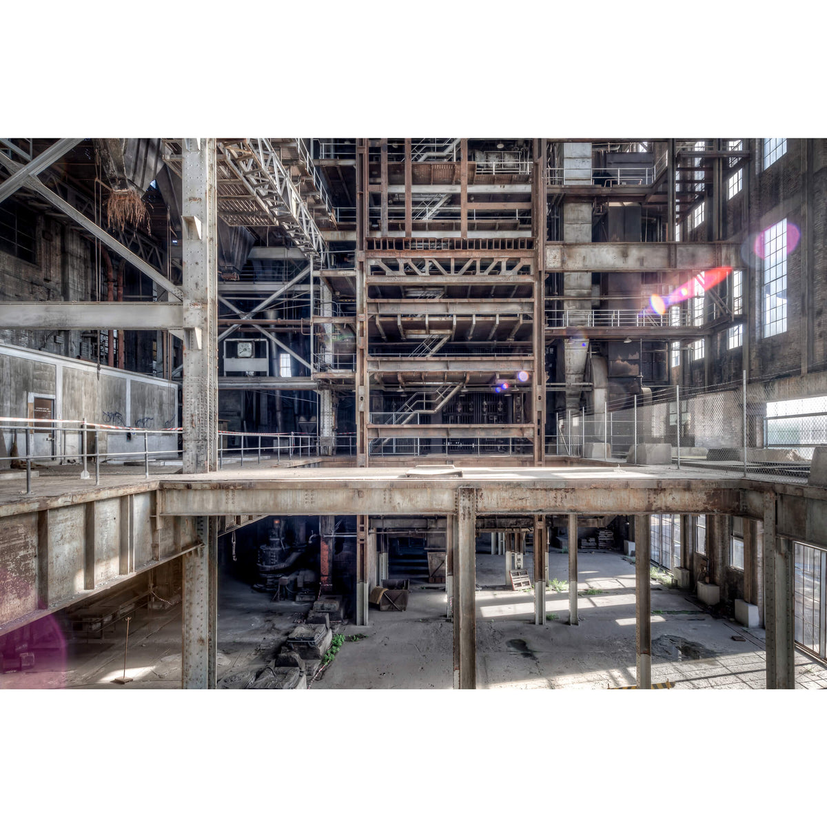 Boiler House Operator Level | White Bay Power Station Fine Art Print - Lost Collective Shop