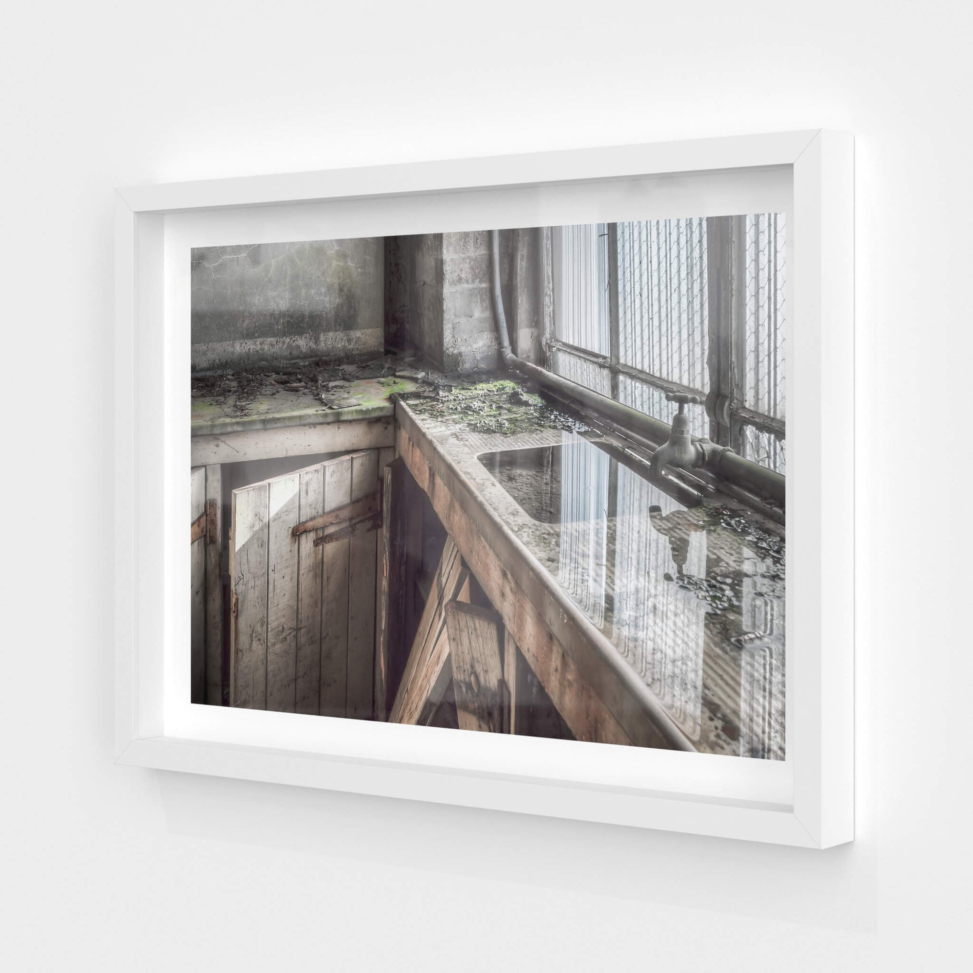 Boiler House Sink | White Bay Power Station Fine Art Print - Lost Collective Shop