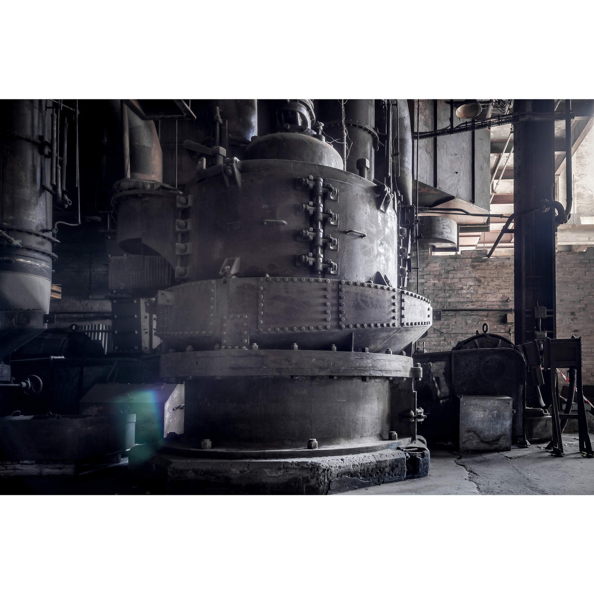 Coal Mill | White Bay Power Station Fine Art Print - Lost Collective Shop