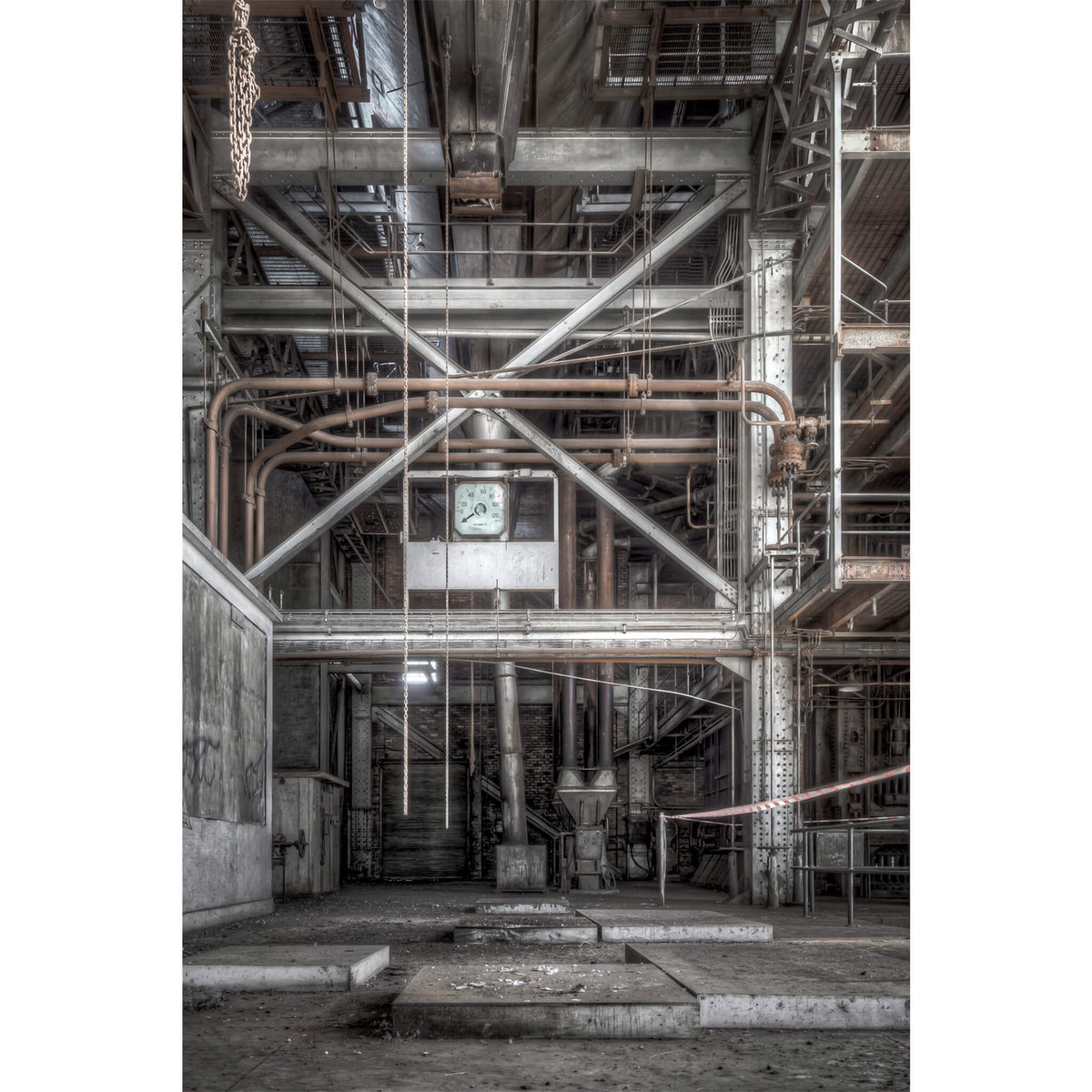 Coal Weigher | White Bay Power Station Fine Art Print - Lost Collective Shop