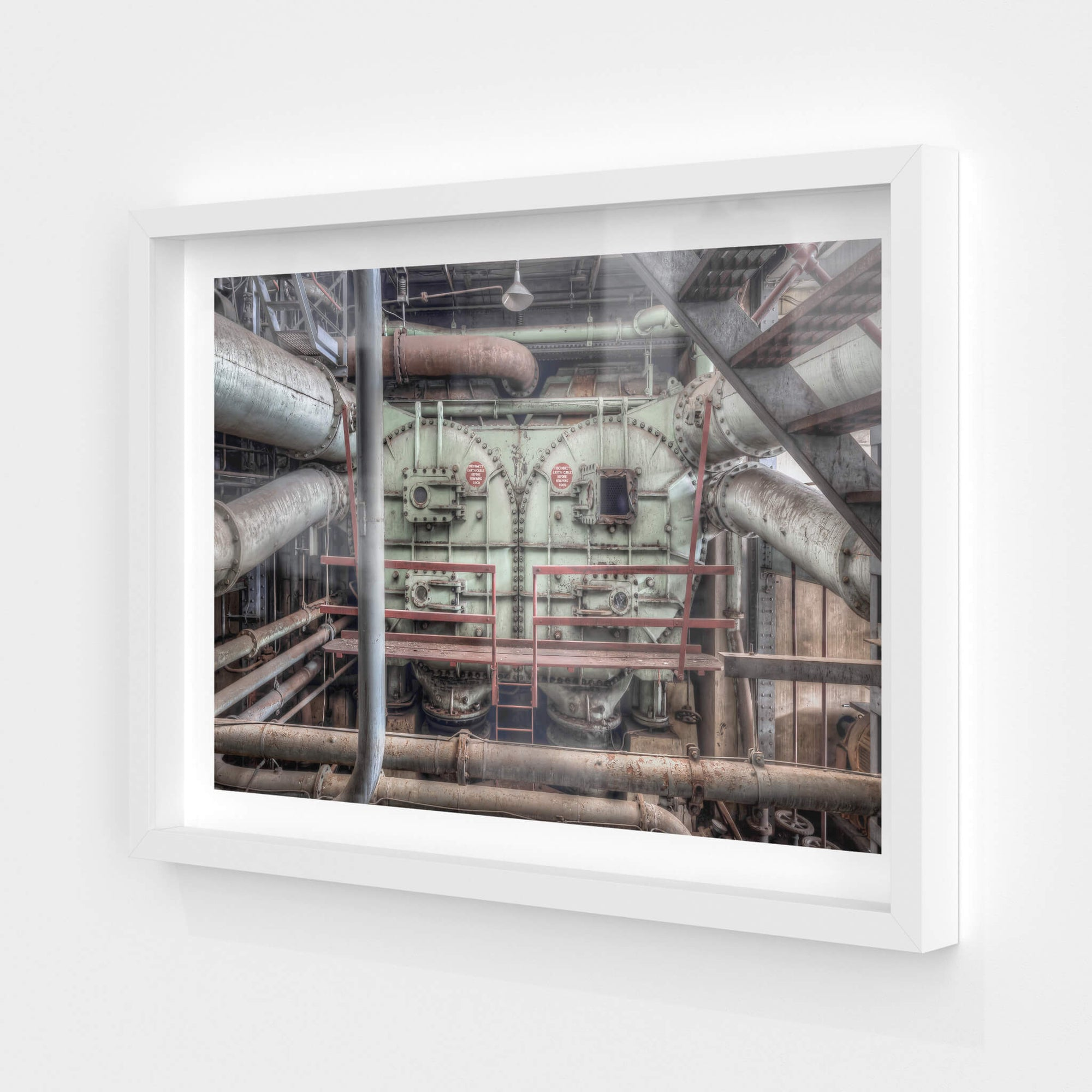 Condenser | White Bay Power Station Fine Art Print - Lost Collective Shop