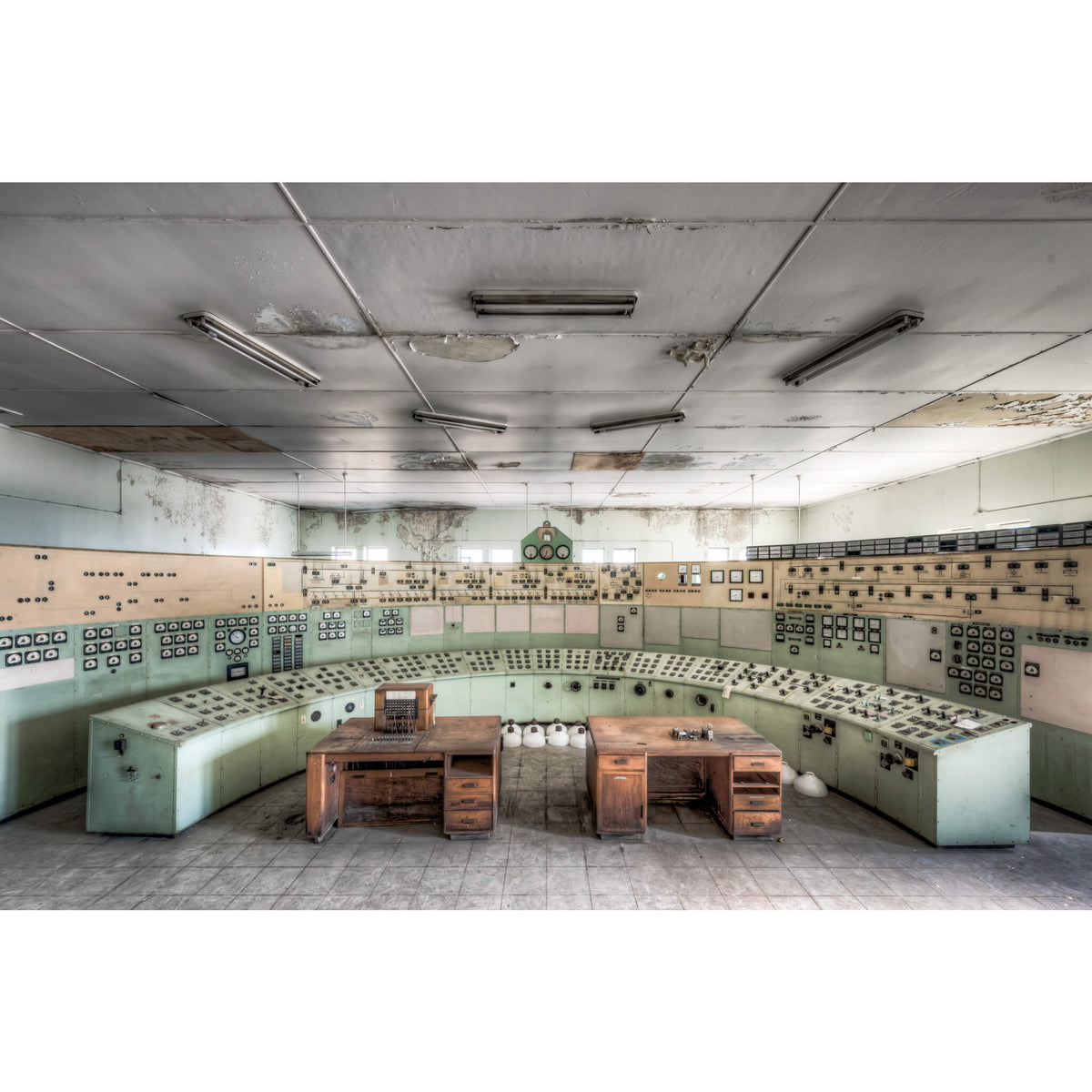 Control Room | White Bay Power Station Fine Art Print - Lost Collective Shop