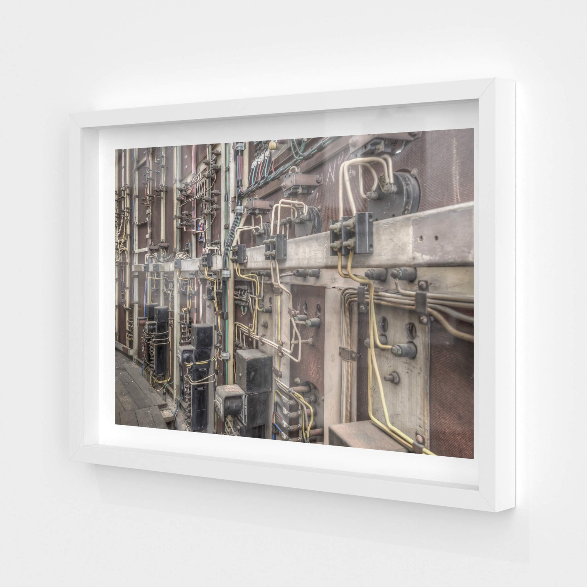 Control Room Wiring | White Bay Power Station Fine Art Print - Lost Collective Shop