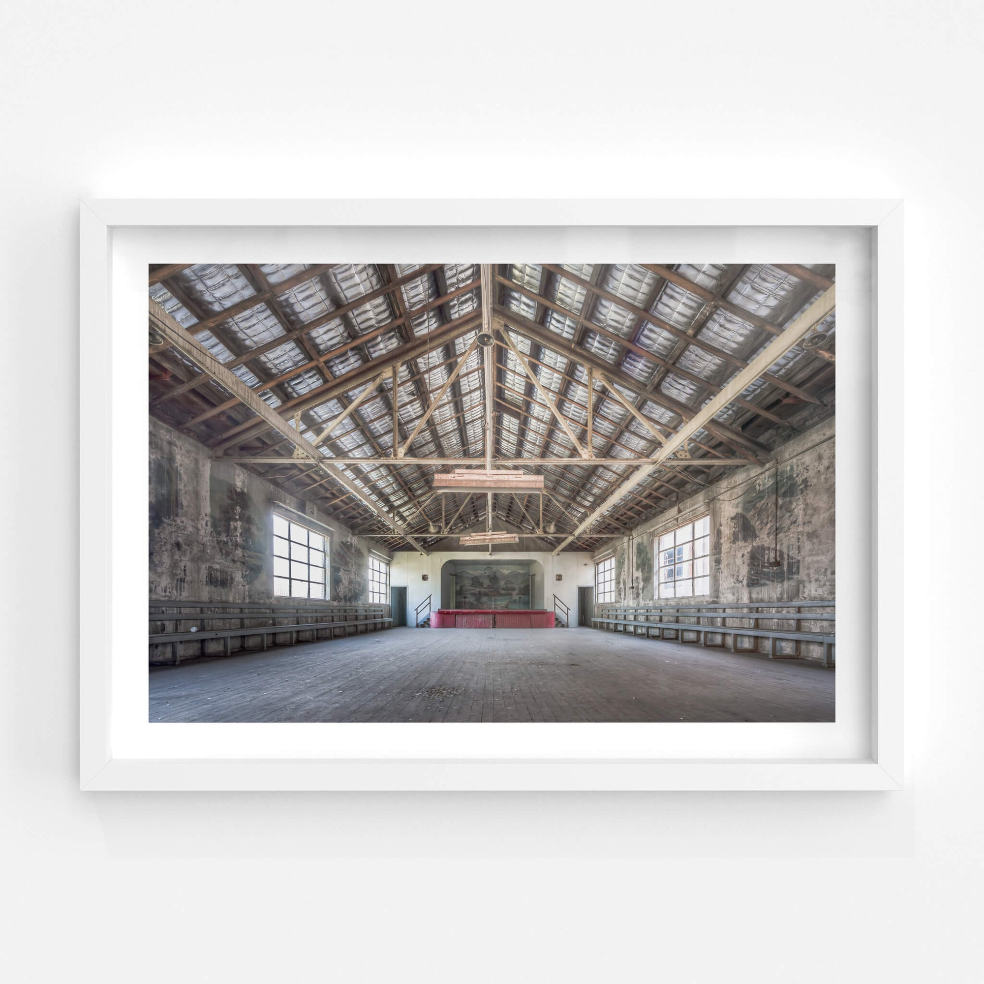 Entertainment Hall | White Bay Power Station Fine Art Print - Lost Collective Shop