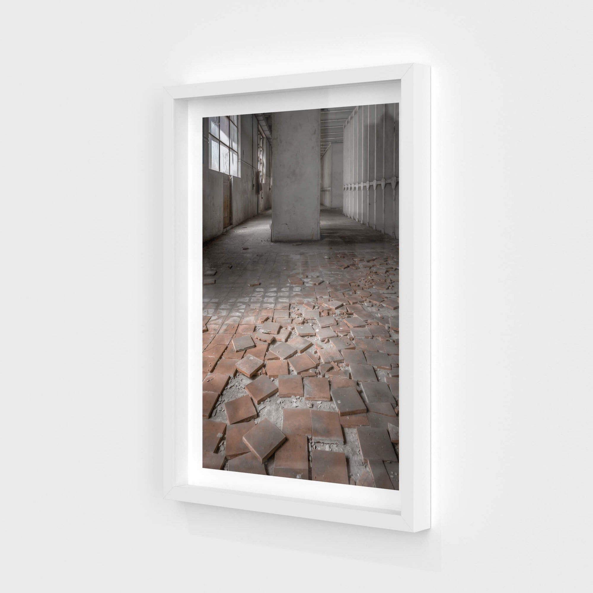 Reactor Room Tiles | White Bay Power Station Fine Art Print - Lost Collective Shop