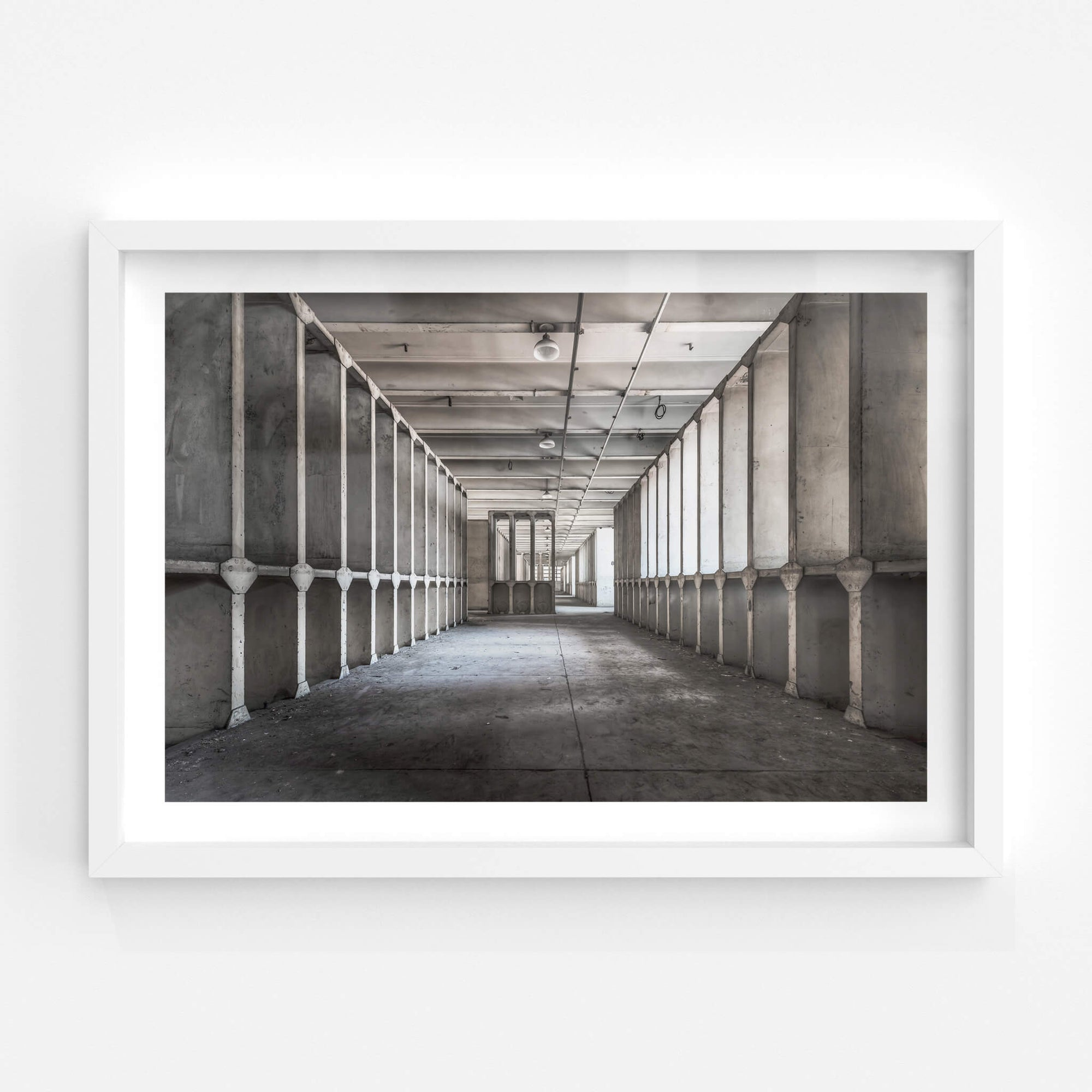 Reactor Room | White Bay Power Station Fine Art Print - Lost Collective Shop