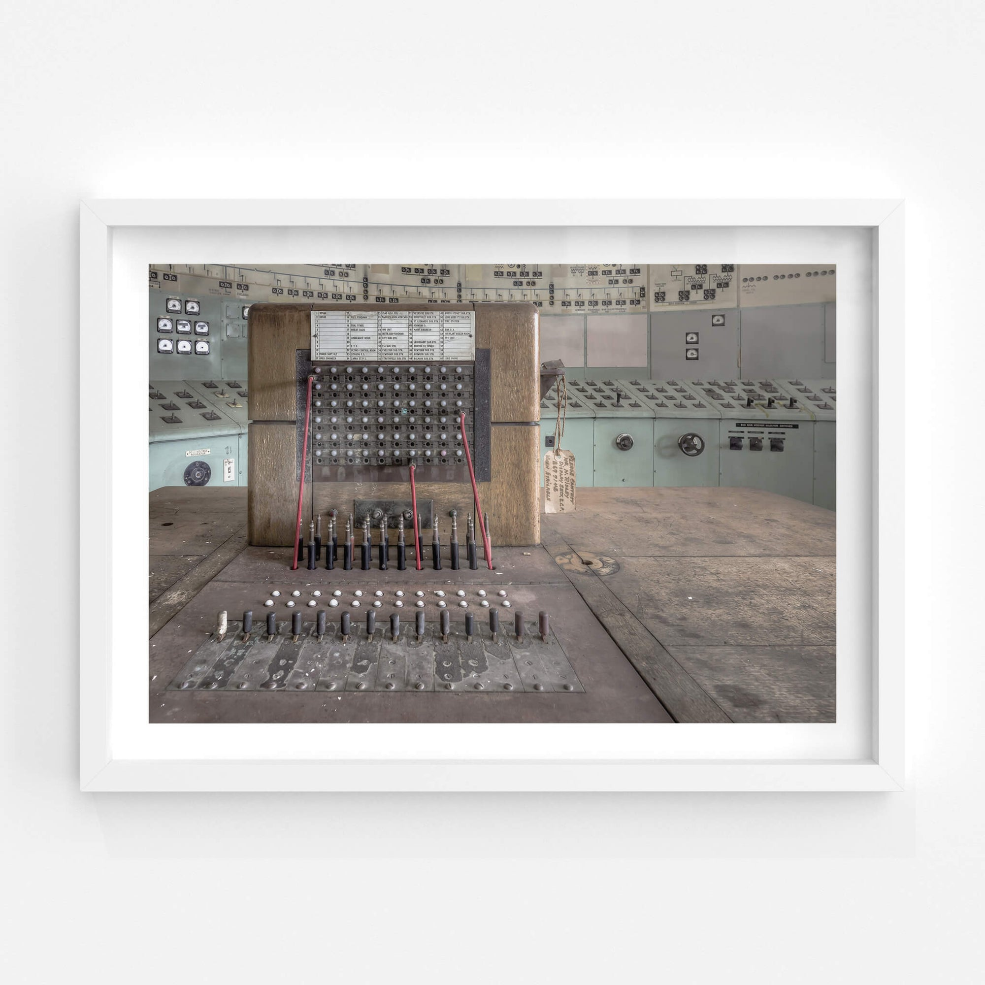 Telephone Exchange | White Bay Power Station Fine Art Print - Lost Collective Shop