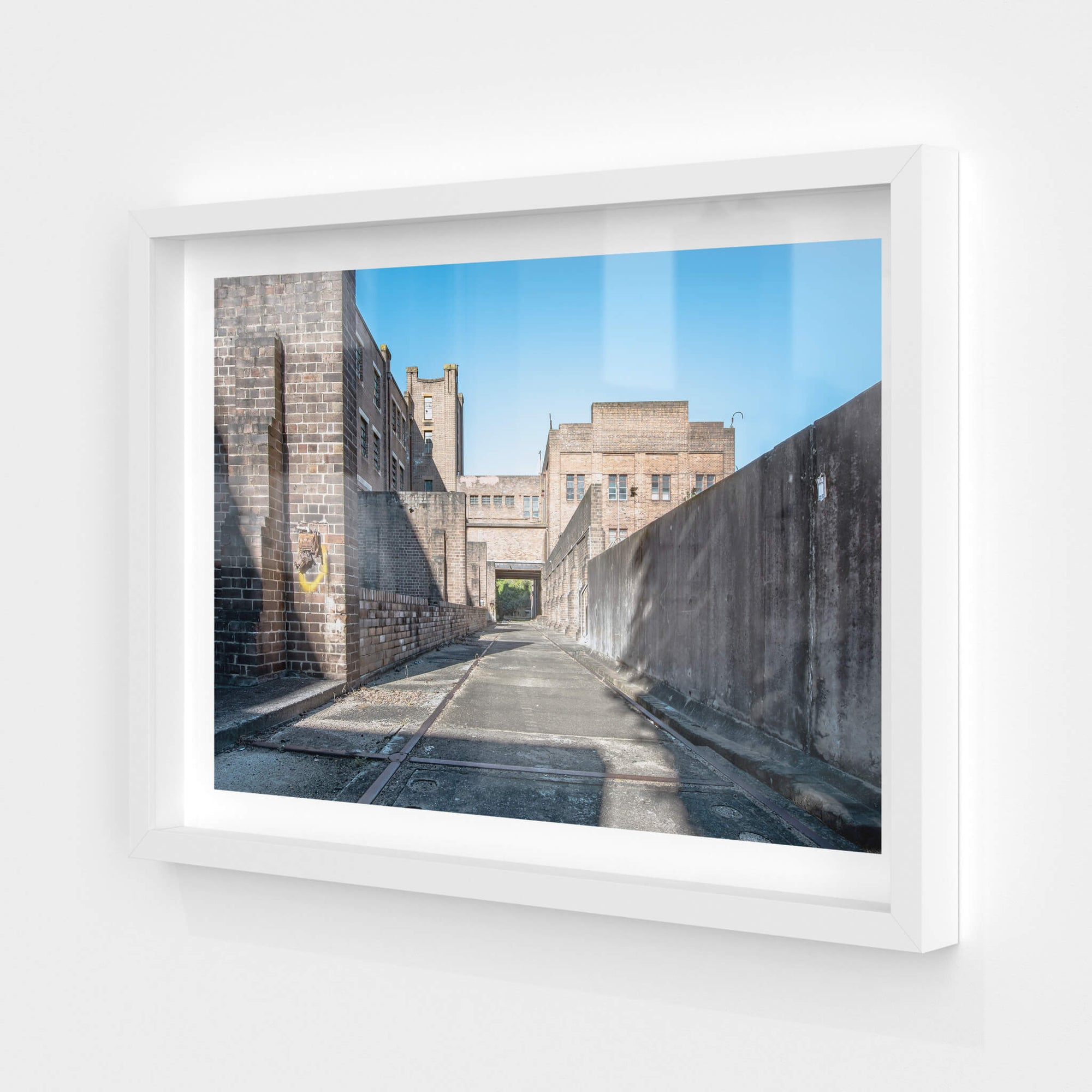 Transformer Yard | White Bay Power Station Fine Art Print - Lost Collective Shop
