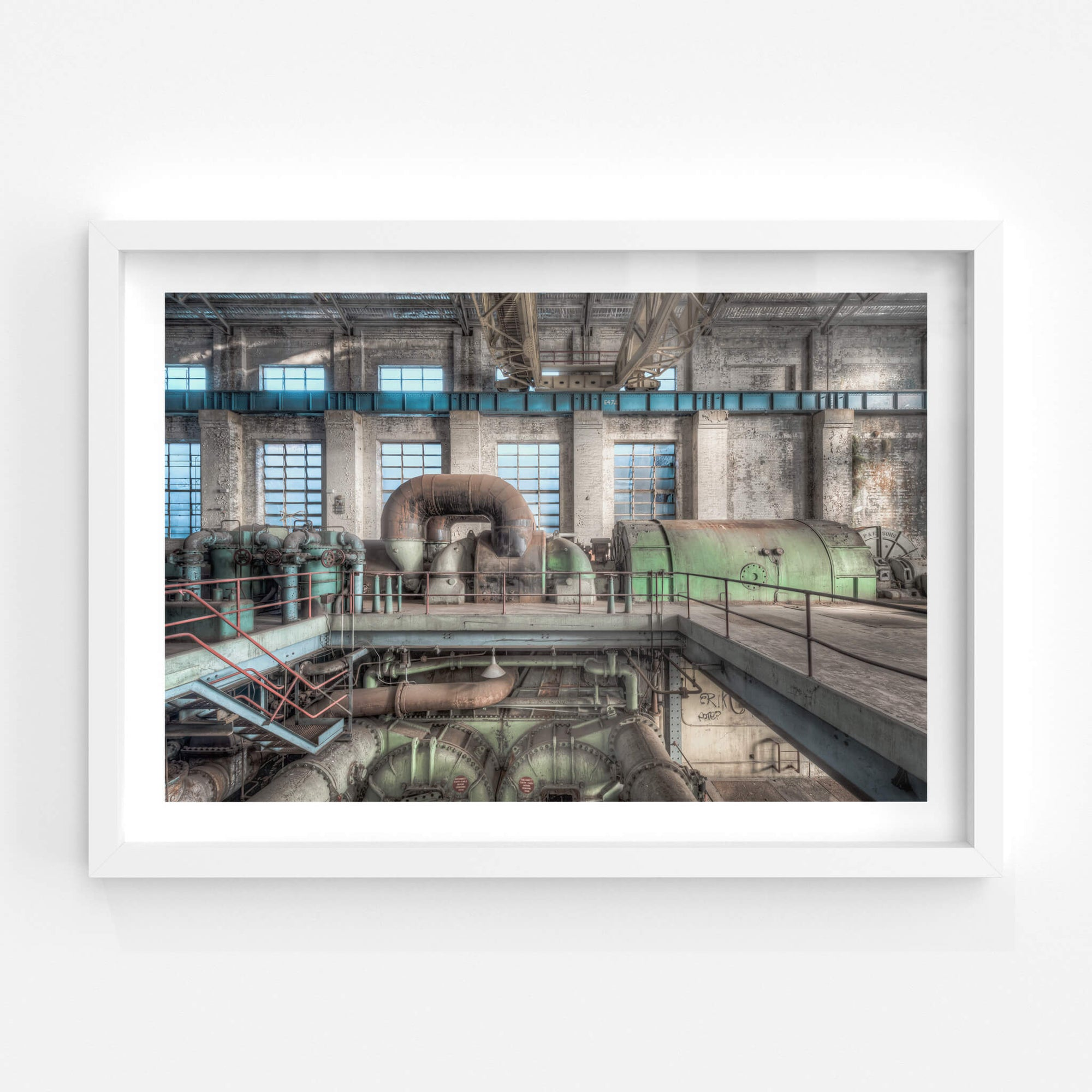 Turbine and Condenser | White Bay Power Station Fine Art Print - Lost Collective Shop