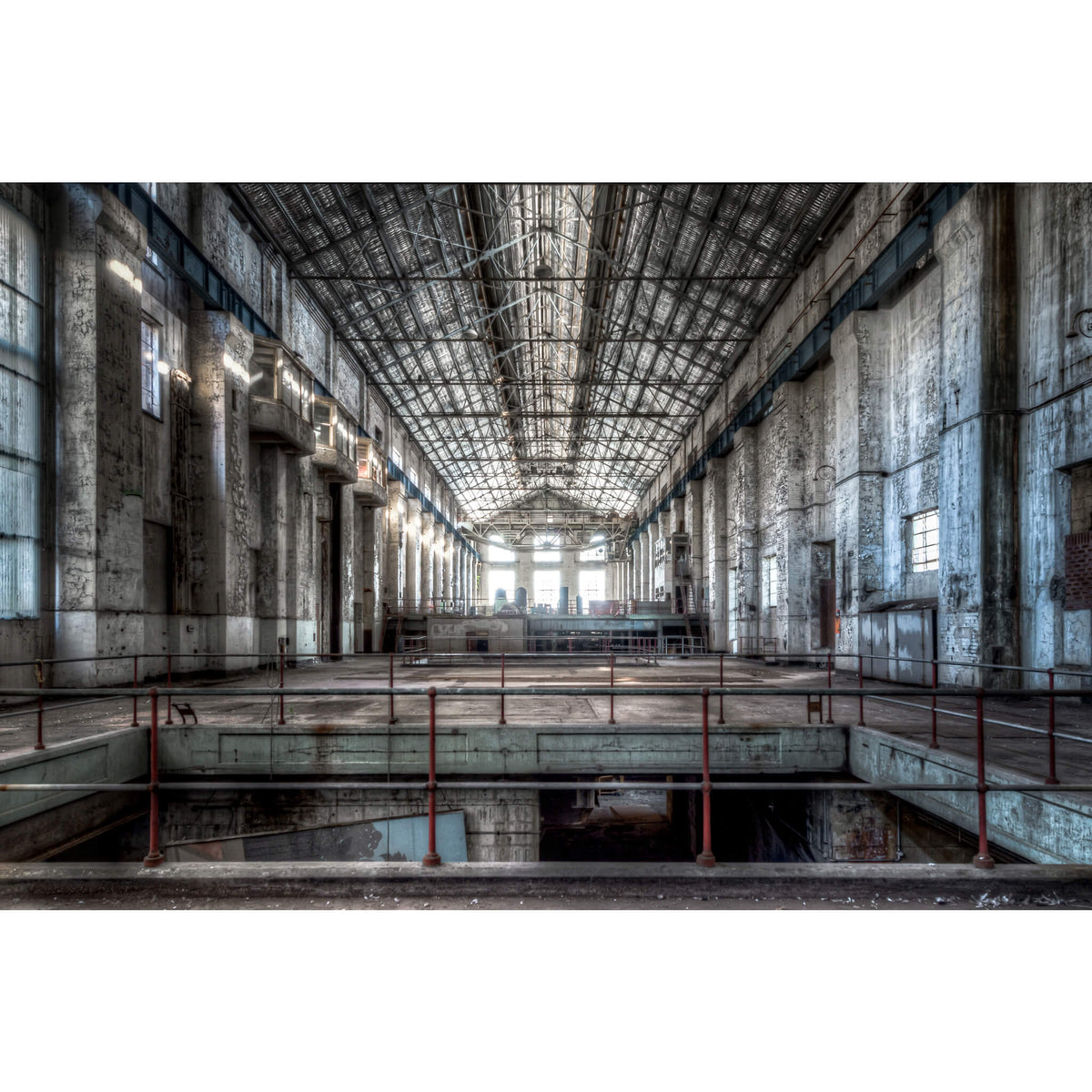 Turbine Hall | White Bay Power Station Fine Art Print - Lost Collective Shop