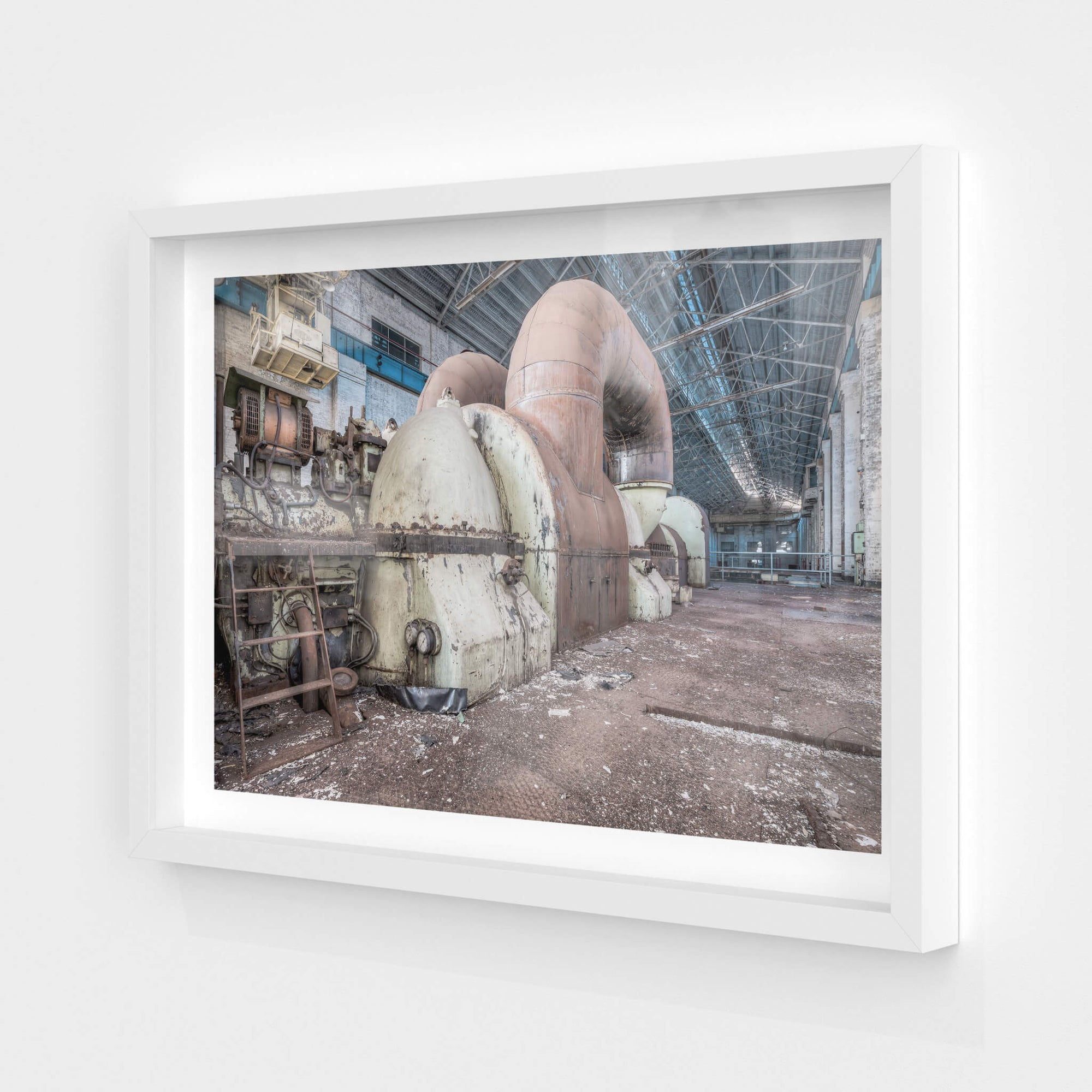 Turbine | White Bay Power Station Fine Art Print - Lost Collective Shop