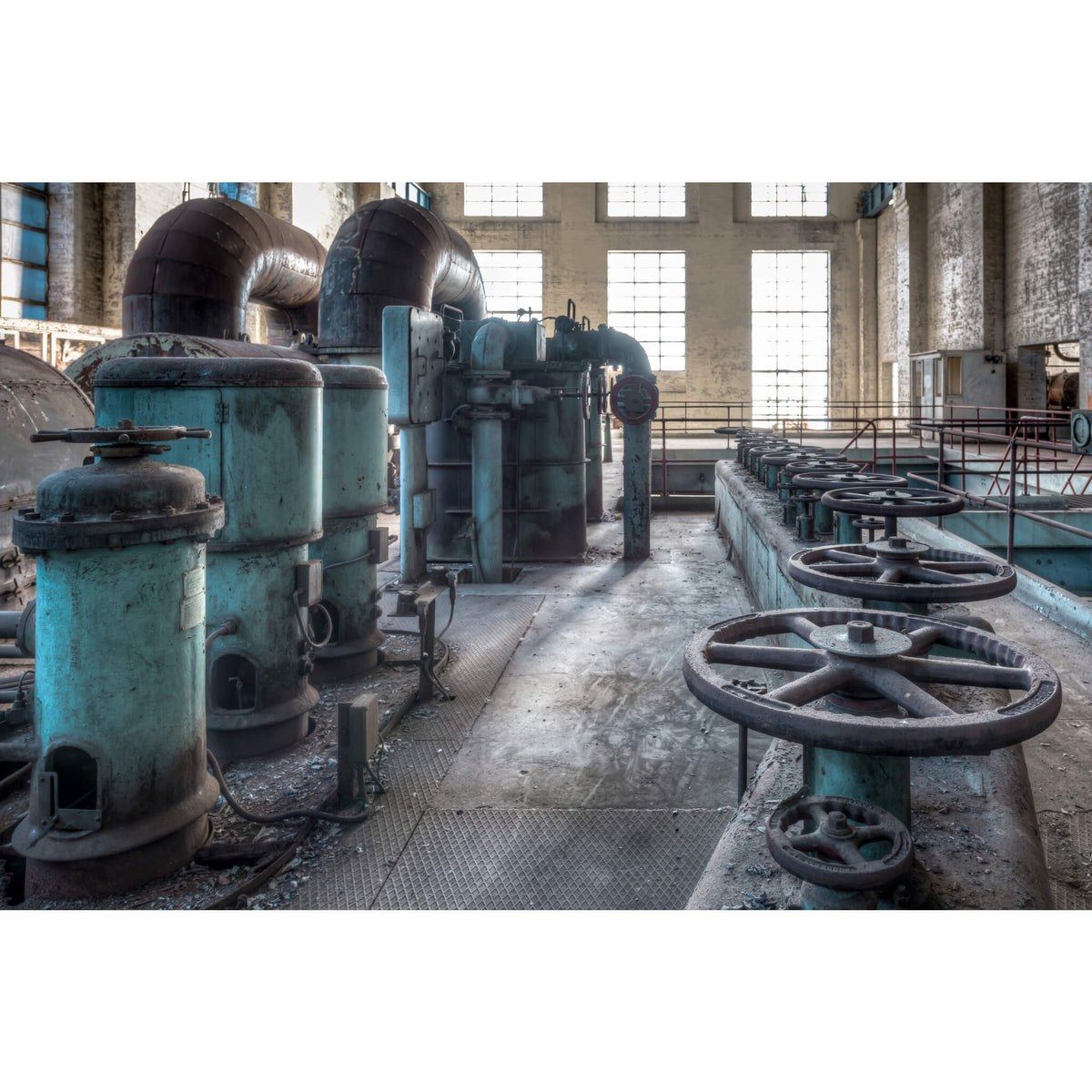 Valve Nest | White Bay Power Station Fine Art Print - Lost Collective Shop