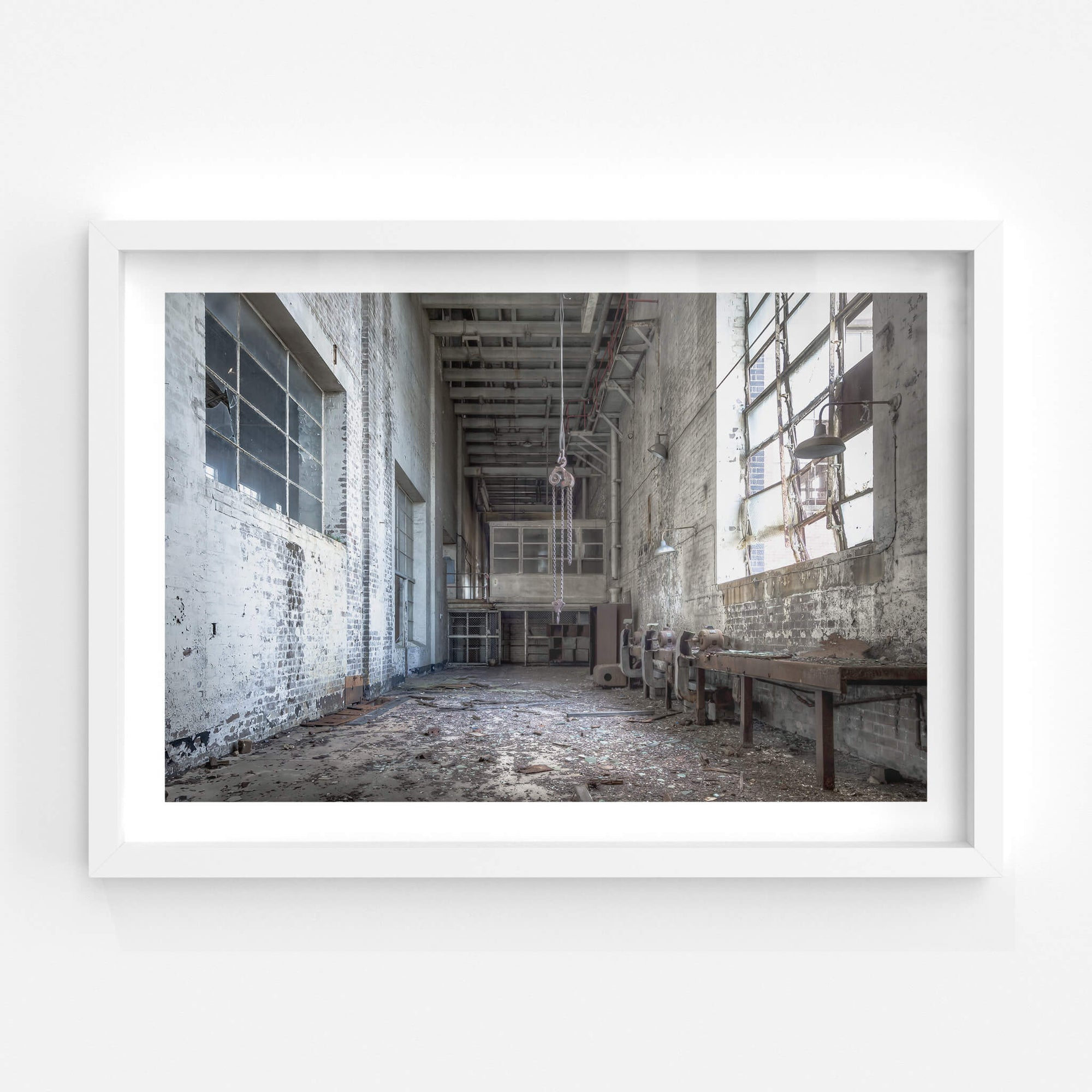 Workshop | White Bay Power Station Fine Art Print - Lost Collective Shop