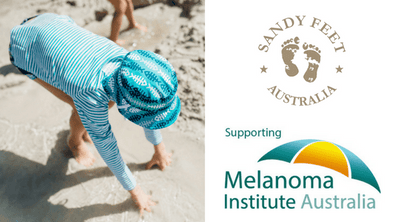 Sandy Feet Australia supporting The Melanoma Institute of Australia