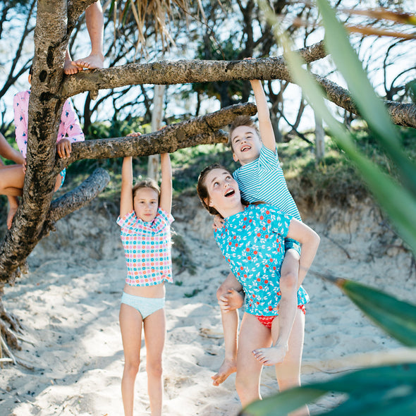 Sandy Feet Australia Kids Swimwear Product Info