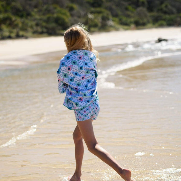 Poppy Perfection Sand Free Beach Towel