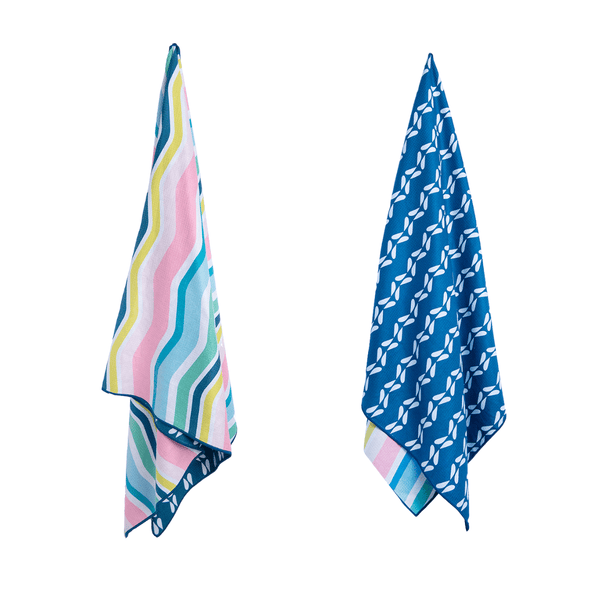 Rainbow Wave Sand Free Beach Towel
