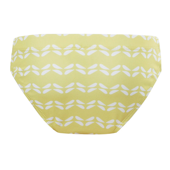 Girls Sunburst Chevron Bikini Bottoms