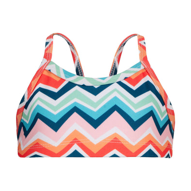 Sandy Feet Australia Bikini Tops Chevron Colour Burst Bikini Top