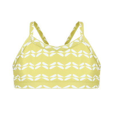 Sandy Feet Australia Bikini Tops Girls Sunburst Chevron Bikini Top