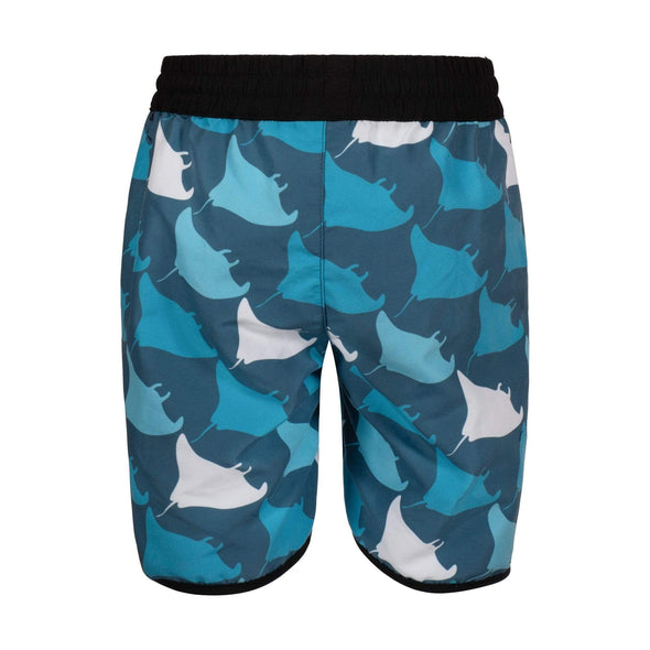 Blue Manta Squadron Board Shorts