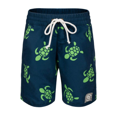 Sandy Feet Australia Board Shorts Navy Turtle Bale Board Shorts
