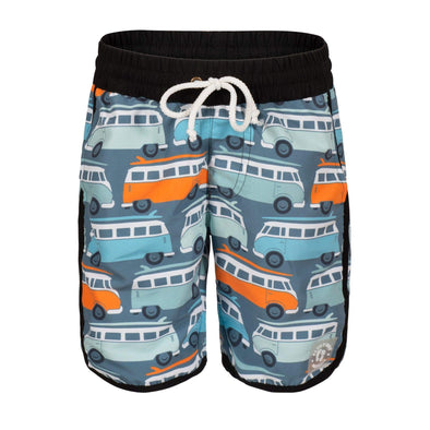 Sandy Feet Australia Board Shorts Retro Kombi Board Shorts