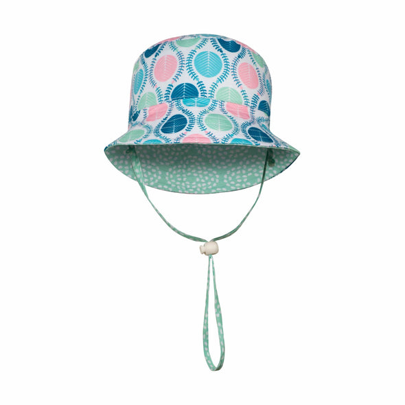 Eucalyptus Pebbles Reversible Bucket Hat