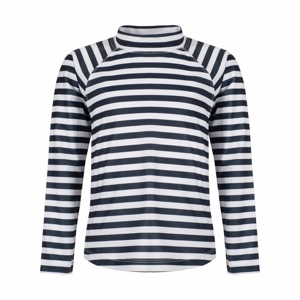 Charcoal Stripe Long Sleeve Rashie