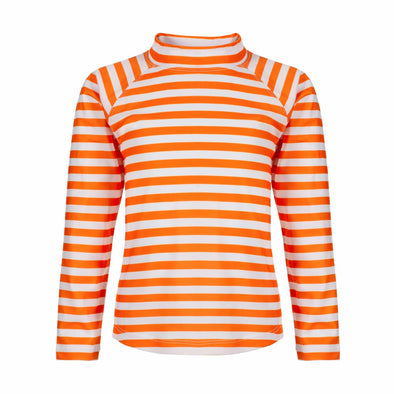 Sandy Feet Australia Long Sleeve Rashie Lava Stripe Long Sleeve Rashie