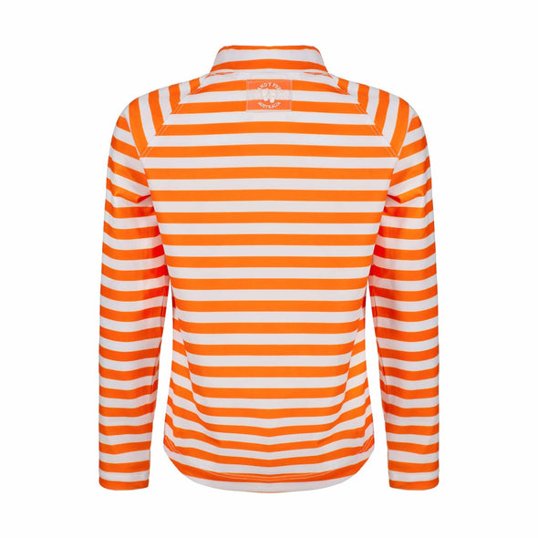 Lava Stripe Long Sleeve Rashie