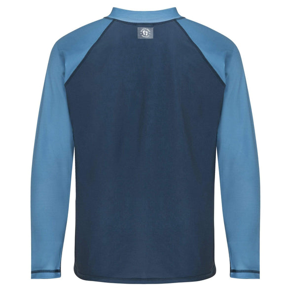 Mens Navy Blue Long Sleeve Rashie
