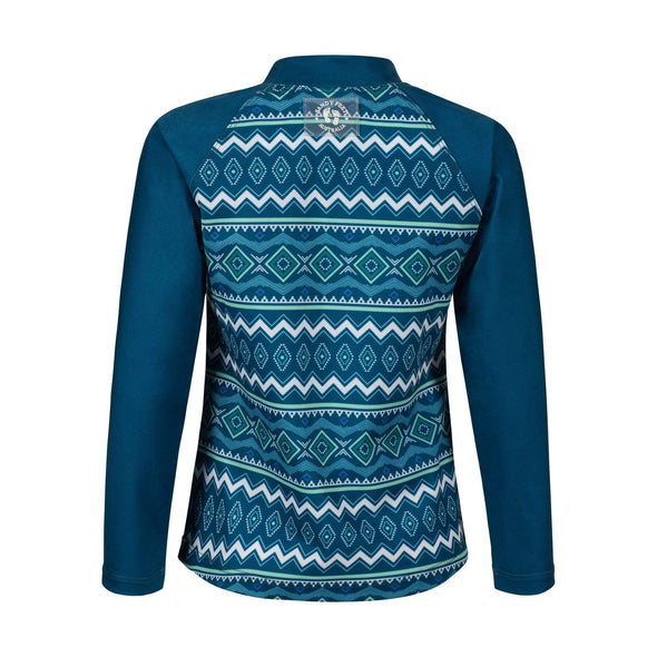 Seascape Tribal Long Sleeve Rashie