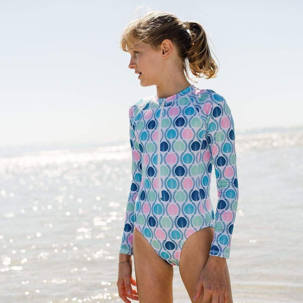 Eucalyptus Long Sleeve Sunsuit