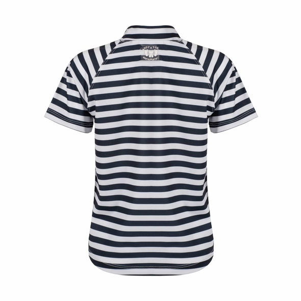 Charcoal Stripe Short Sleeve Rashie