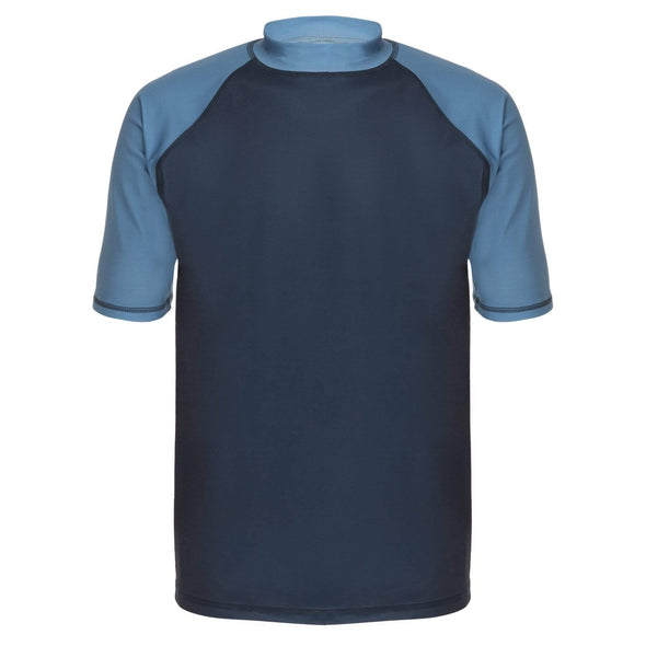 Mens Navy Blue Short Sleeve Rashie